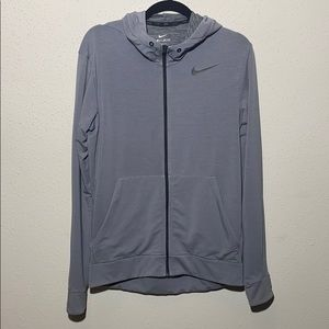 Men's small nike zip up hoodie